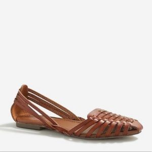 J Crew Huarache Woven Sandals